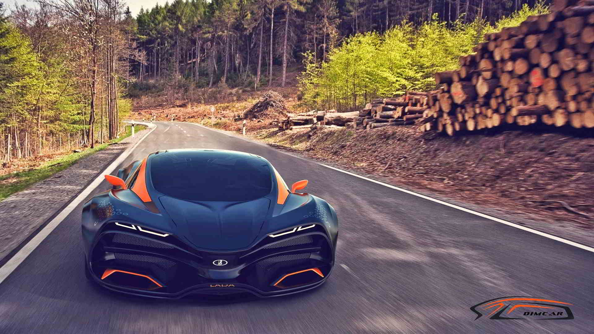 Lada Raven Cool Sports Car Concept Wallpaper