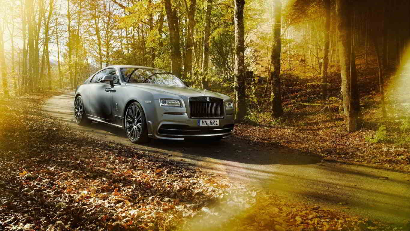 spofec rolls royce wraith jungle wallpaper