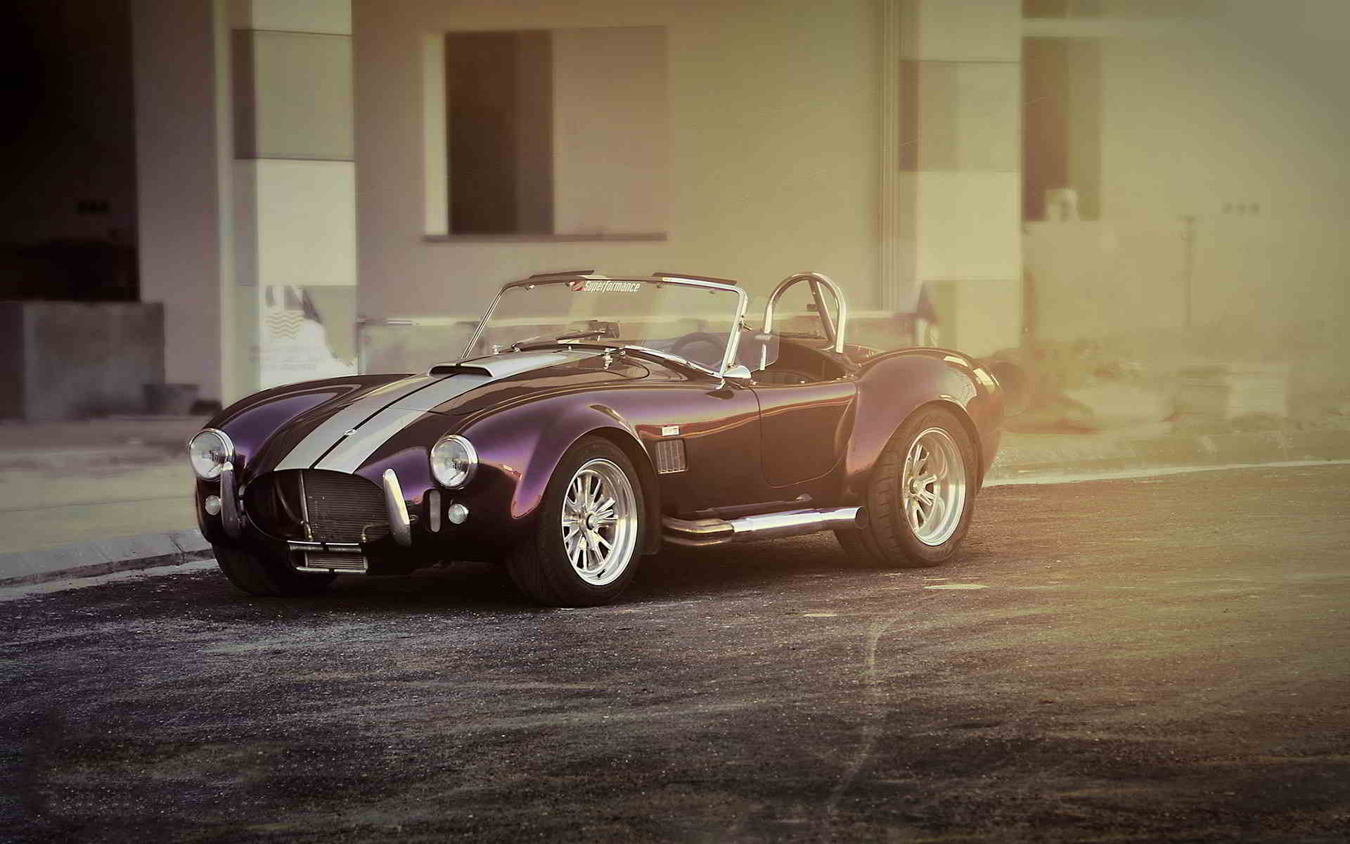 shelby cobra vintage car wallpapers