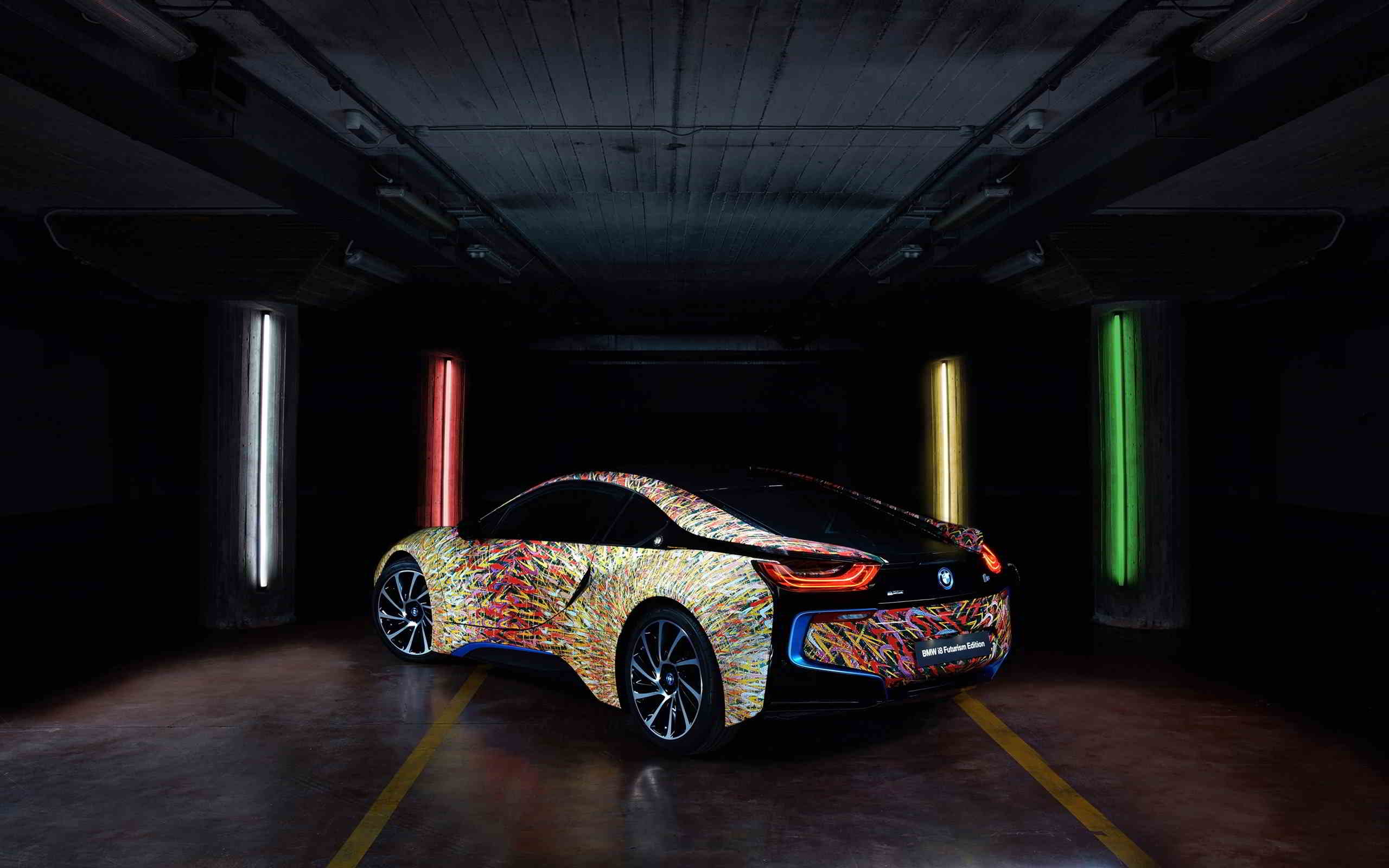 bmw i8 futurism edition wallpaper 2