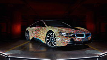 bmw i8 futurism edition cool car wallpapers