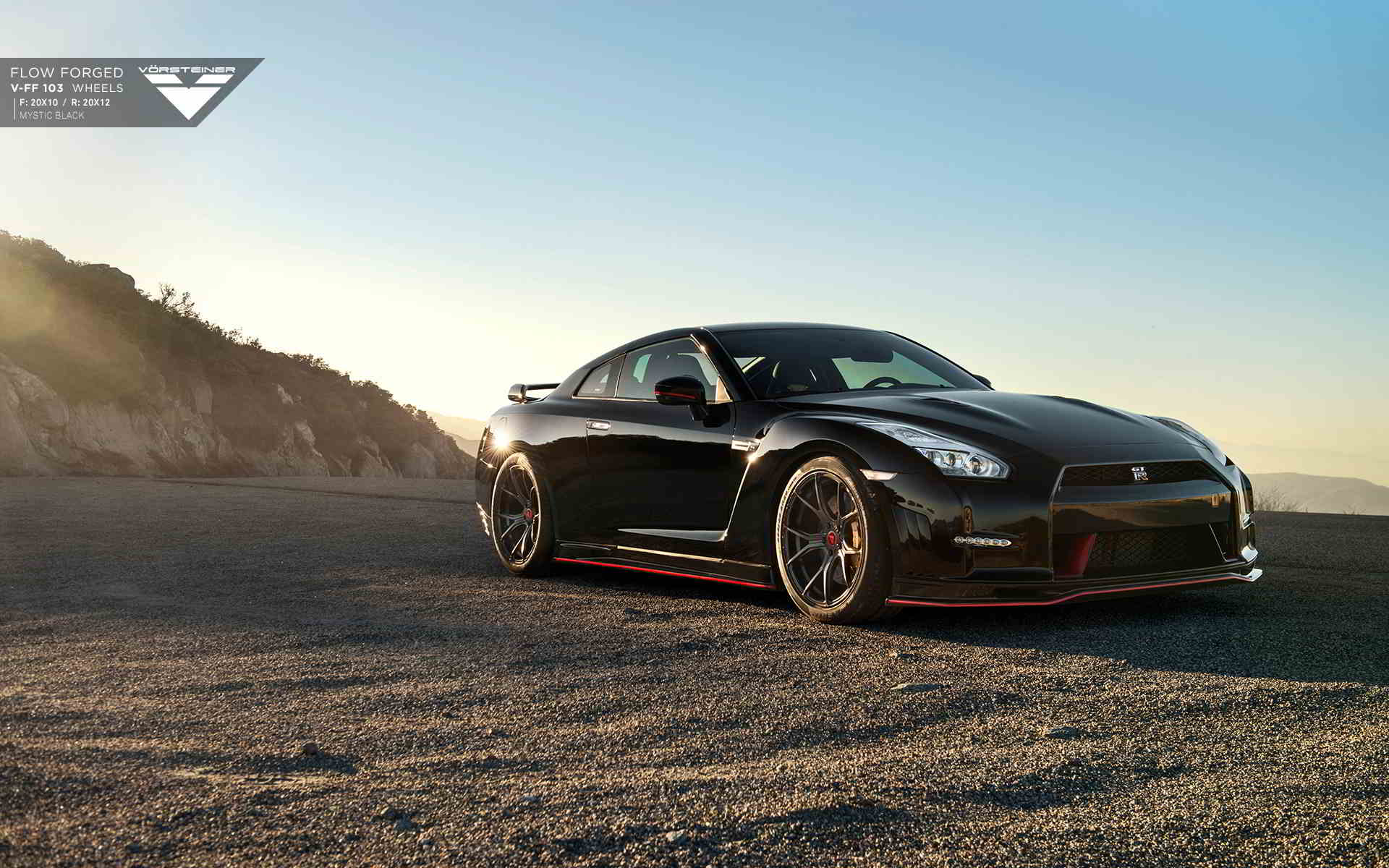black nissan gtr wallpaper