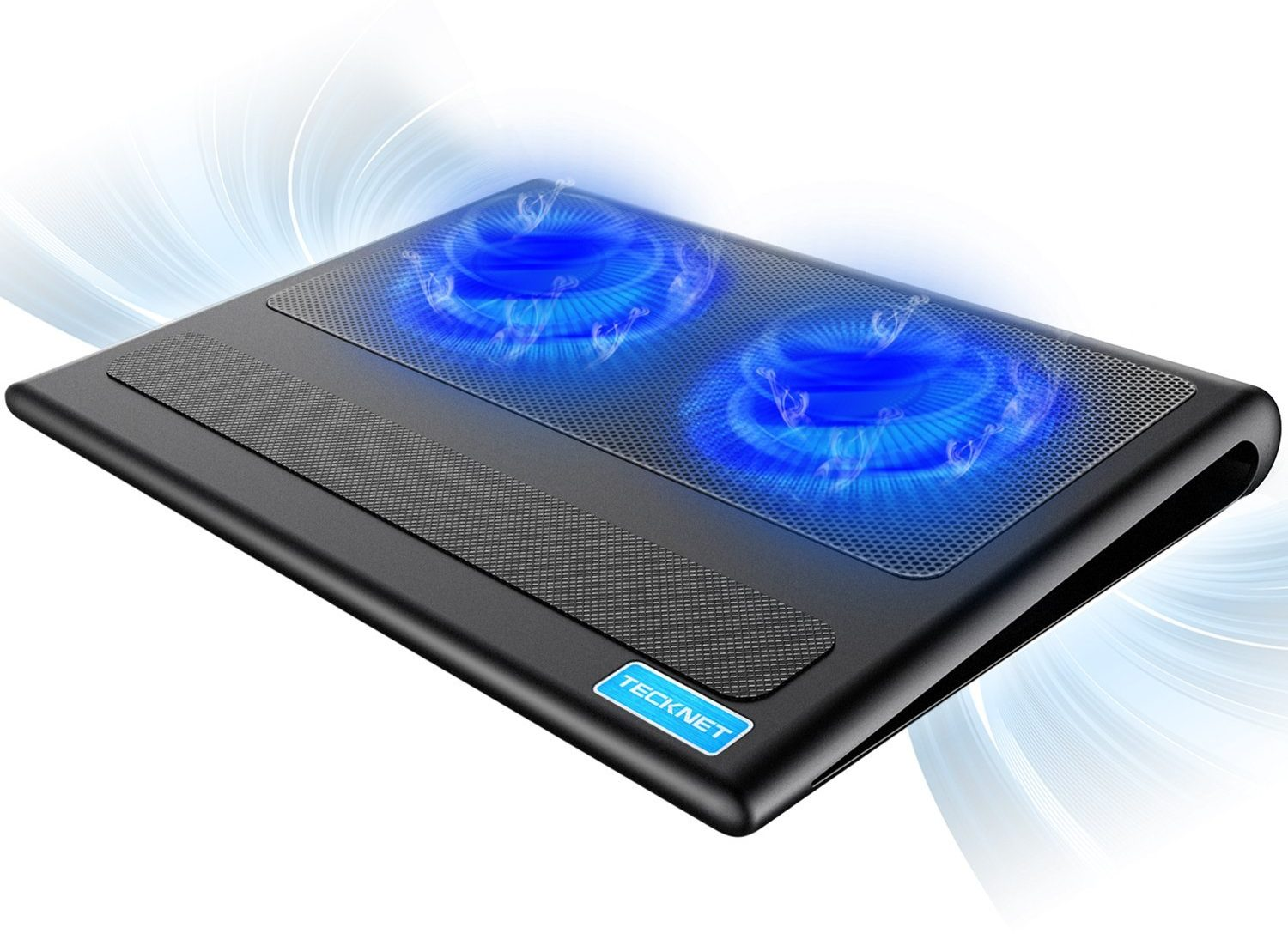 Slim and quite laptop cooling pad by tecknet